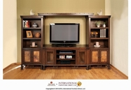 Artisan Home Furniture IFD302BKCS-BRIDGE-STAND Valencia Entertainment Center