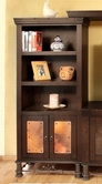 Artisan Home Furniture IFD302BKCS Valencia Bookcase