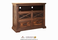 Artisan Home Furniture IFD365CHEST-TV Casa Grande 4 Drawer Media Chest