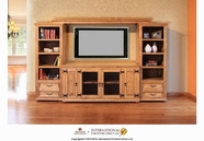 Artisan Home Furniture IFD410STAND-444BKCS-BRIDGE Laredo Entertainment Center