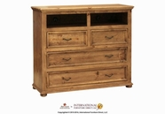 Artisan Home Furniture IFD444CHEST-TV Laredo 4 Drawer Media Chest