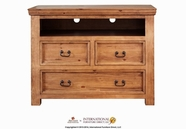 Artisan Home Furniture IFD490CHEST-TV Sierra 3 Drawer Media Chest