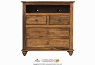 Artisan Home Furniture IFD620CHEST-TV Provence 4 Drawer Media Chest