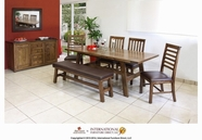 Artisan Home Furniture IFD620CHR-S-TABLE Provence Dinning Set