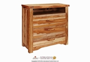 Artisan Home Furniture IFD660CHEST-TV Guamuchil 3 Drawer Media Chest