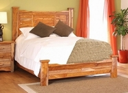 Artisan Home Furniture IFD660HDBD-PLTFRM-EK Guamuchil King Bed