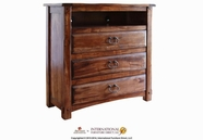 Artisan Home Furniture IFD668CHEST-TV Antigua 3 Drawer Media Chest