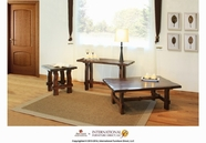 Artisan Home Furniture IFD668CKTL-END-SOFA Antigua Occasional Table Set