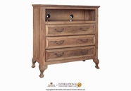 Artisan Home Furniture IFD750CHEST-TV Toulouse 3 Drawer Media Chest
