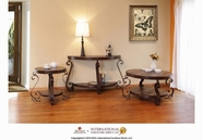 Artisan Home Furniture IFD760CKTL-END-SOFA Malaga Occasional Table Set