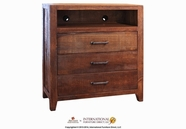 Artisan Home Furniture IFD770CHEST-TV Montecarlo 3 Drawer Media Chest