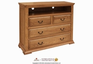 Artisan Home Furniture IFD800CHEST-TV Stone Ridge 4 Drawer Media Chest