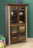 Artisan Home Furniture IFD966BKCS 900 ANTIQUE Bookcase w/4 doors