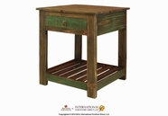 Artisan Home Furniture IFD966CST Antique Chair side Table w/1 drawer