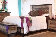 Artisan Home Furniture IFD966HDBD-PLTFRM-EK Antique King Bed