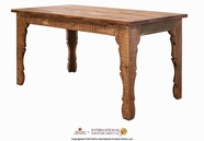 Artisan Home Furniture IFD966TABLE-MC Antique Multicolor 64 inch Dining Table Multicolor Finish