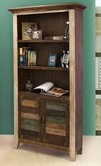 Artisan Home Furniture IFD967BKCS 900 ANTIQUE Bookcase w/2 doors
