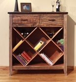 Artisan Home Furniture IFD967BKCS-WINE 900 ANTIQUE Bookcase
