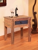 Artisan Home Furniture IFD967CST Antique Chair side Table w/1 drawer