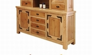 Artisan Home Furniture LHR101BUFFET Lodge 70 inch Buffet w/4 drawers, 2 doors