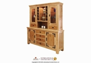 Artisan Home Furniture LHR101BUFFETAndHutch Lodge 70 inch Buffet And Hutch