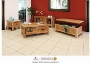 Artisan Home Furniture LHR101CKTL-END Lodge Occasional Table Set