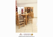 Artisan Home Furniture LHR103BS24-COUNT TBL Lodge Casual Dining Counter Height Table Set