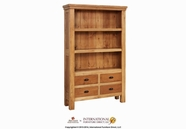Artisan Home Furniture LHR104BKCS Lodge 4 Drawer Bookcase