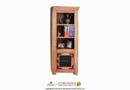 Artisan Home Furniture LHR106PIER-L Lodge Left Pier for Flat TV Wall Unit