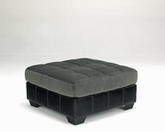 ASHLEY 1060308 Hobokin - Pewter OVERSIZED ACCENT OTTOMAN