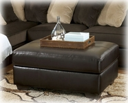 Ashley Gemini - Chocolate 1120008 Oversized Accent Ottoman