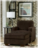 Ashley Atmore - Chocolate 1280214 Ottoman