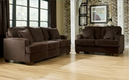 Ashley Atmore - Chocolate 1280238-35 Sofa-loveseat set