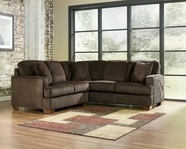 Ashley Atmore - Chocolate 1280256-66  Loveseat Sectional
