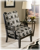 Ashley Kaldiscope - Steel 131XX60 showood accent chair
