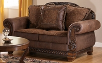 Ashley Bradington - Truffle 1540035 Loveseat