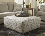 ASHLEY 1660008 Alenya - Quartz OVERSIZED ACCENT OTTOMAN