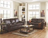 ASHLEY Murielle DuraBlend - Espresso 1700238-35 SOFA SET