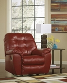 ASHLEY 2010025 Alliston DuraBlend - Salsa ROCKER RECLINER