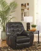 ASHLEY 2010125 Alliston DuraBlend-Chocolate ROCKER RECLINER