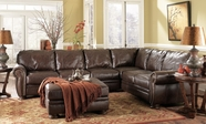 ASHLEY 2050055-46-67 Palmer Walnut Large Sectional