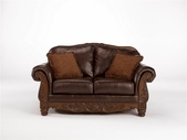 Ashley North Shore - Dark Brown 2260335 Loveseat