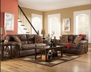 ASHLEY 30900 Frontier Canyon Leather Sofa Set