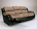 Ashley Presley - Cocoa  3150189 Reclining Sofa w/DDT/Massage