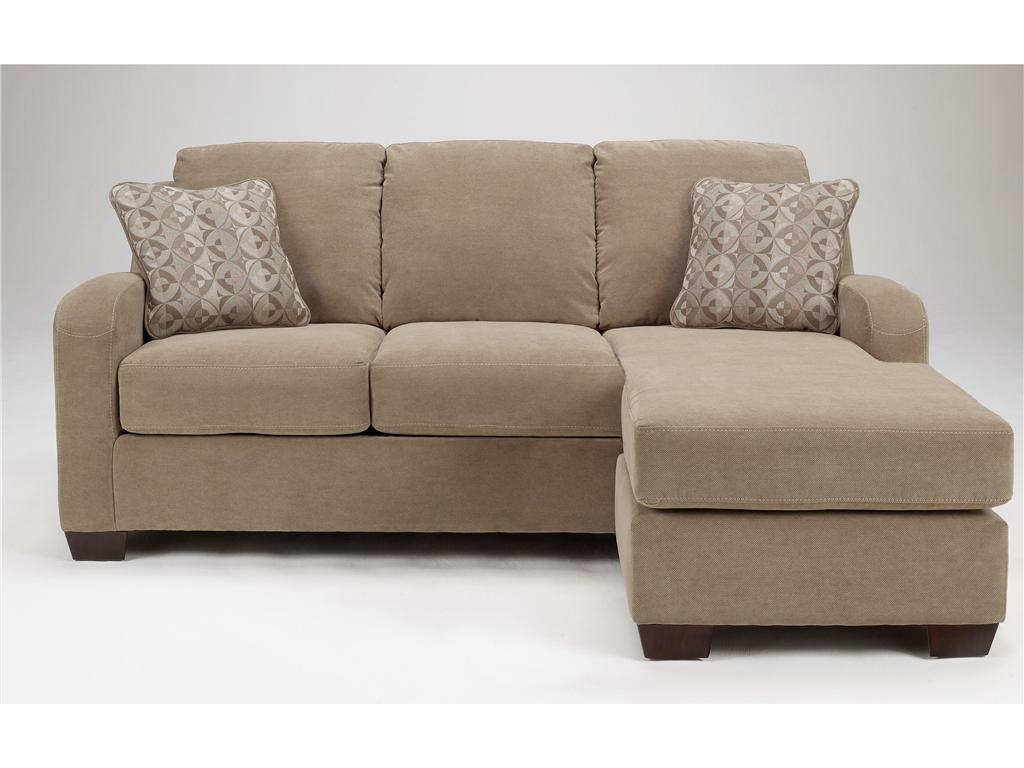 ashley 3180118 sofa chaise by the best chicago furniture store