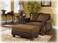 Ashley Wilmington - Walnut 3460214 ottoman