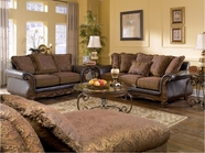 Ashley Wilmington - Walnut 3460238-35 sofa and loveseat