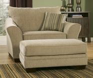 Ashley Lena - Putty 3540114 Ottoman