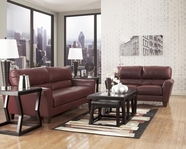 ASHLEY Kentley DuraBlend - Garnet 3700238-35 SOFA SET