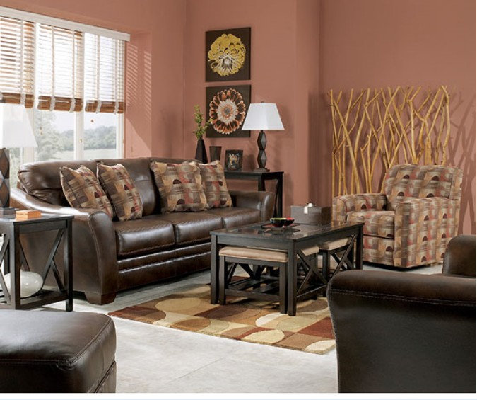 ASHLEY 3920038 35 DuraBlend Sedona Living Room Set Chicago Furniture